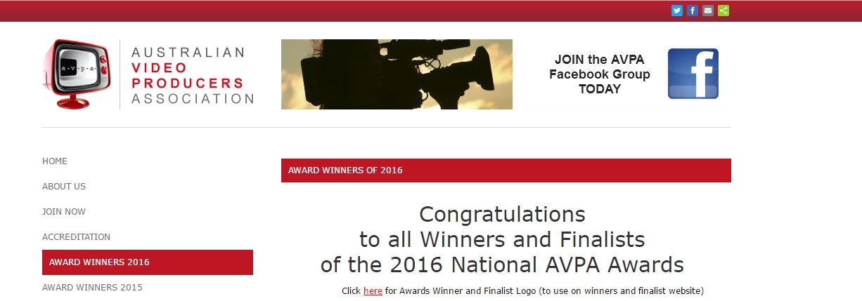 avpa 2016 winners 1